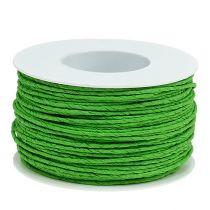 Sznurek papierowy owijany Ø2mm 100m Apple Green