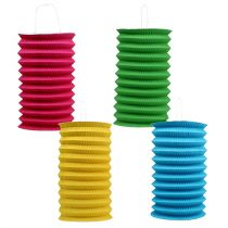 Lampion papierowy Ø15cm różne kolory 4st