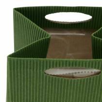 Papierowa torebka doniczka Planter Green Mix 10,5cm 12szt