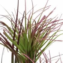 Cyprysik w doniczce sztuczny zielony, czerwony, liliowy 45cm