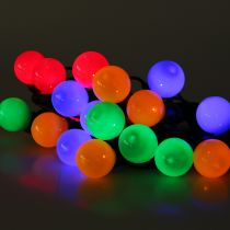 Łańcuch imprezowy w kolorze na zewnątrz 20 diod LED 9,5 m