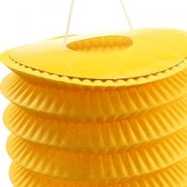 Latarnia pociągowa żółta Ø10cm W13cm 8szt
