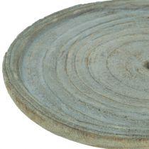 Talerz dekoracyjny drewno Paulownia Ø22cm