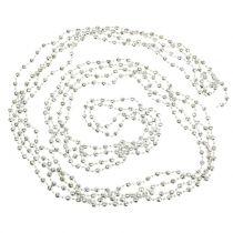 Girlanda choinkowa perłowa jasnozielony 7m