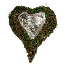 Sadzenie serca jako podstawy do kompozycji kwiatowych 30x35cm H8cm