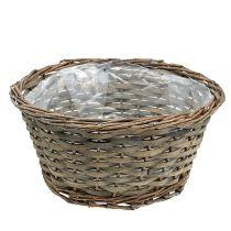 Planter Bowl Round Grey Ø30cm H16cm 1szt.