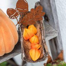 Physalis Orange Assorted 22szt Dekoracyjny kwiat Calyx Artificial