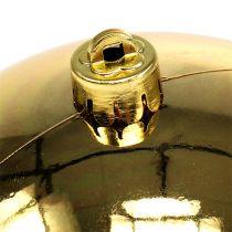 Kula plastikowa złota mała Ø14cm 1szt