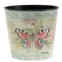 Doniczka Deco Vintage Butterfly Ø17cm