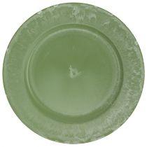 Talerz płytki zielony Ø30cm
