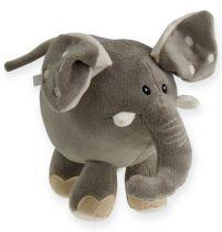 Pluszowy słoń 20cm szary