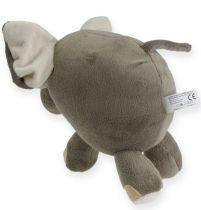 Pluszowy słoń 20 cm szary