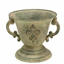 Goblet Bowl Vintage Green Ø15cm H14cm