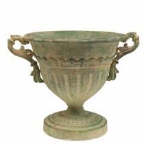 Puchar Misa Shabby Chic Green Ø19cm H18cm