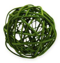 Kule rattanowe Ø4,5cm zielone asortyment 30szt.