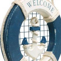 Pierścień ratunkowy Deco, morski, pływający do zawieszenia Ø14cm