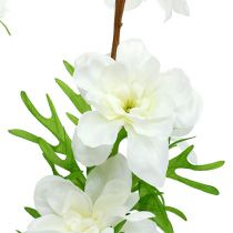 Delphinium sztuczne białe 95cm