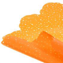 Rondella dots pomarańczowa Ø68cm 50szt.