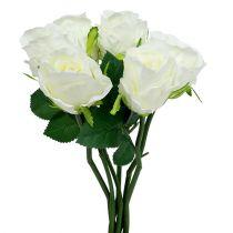 Rose White Ø6cm L30cm 6szt.