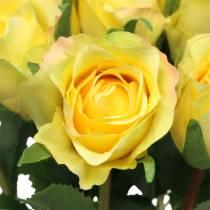 Róża Żółta 42cm 12szt