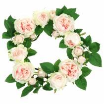 Różaniec różowy Ø35cm