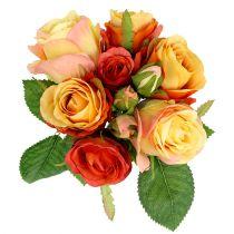 Bukiet Róż Pomarańczowy Ø17cm L25cm