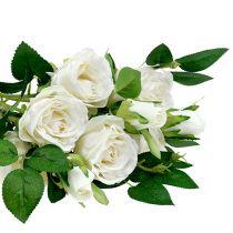 Bukiet Róż Biały L46cm