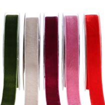 Aksamitna wstążka różne kolory 20mm 10m