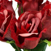 Velvet Rose Red Ø8cm L45cm 6szt.