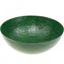 Deco Bowl Vintage Green Metal Planter Ø31cm