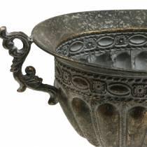 Goblet Misa Antyczne Złoto Owal 42cm H28cm