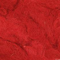 Sizal Czerwony 500g Włókno naturalne