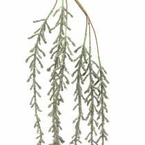 Succulent Vine Wiszący Zielony Brązowy Metaliczny 114cm