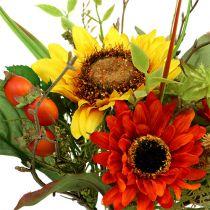 Bukiet słoneczników żółty 24cm