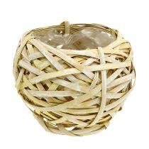 Spank Kosz okrągły żółty Ø18cm H16cm