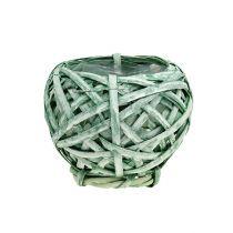 Spank Kosz okrągły zielony Ø15cm H14cm