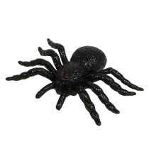 Pająk, nietoperz figurki czarne 10cm, 14cm 3szt.