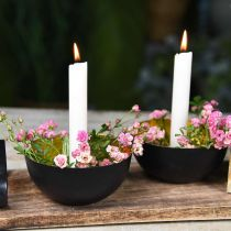 Świece woskowe Stick Candle White Cream 180mm/Ø21mm 6szt