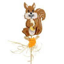 Jeż wtyczkowy, wiewiórka L30cm 12 szt.