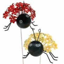 Kwiaty wtyczkowe ogrodowe Biedronka Czerwony, Żółty Asortyment 2szt.