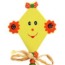Zaślepka do kwiatów smok żółty L31cm 4szt.