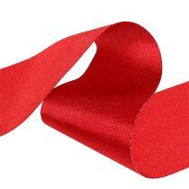 Wstążka na stół czerwona 10cm 15m
