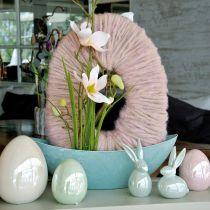 Jajko różowe Matka Perły 15cm 1szt.