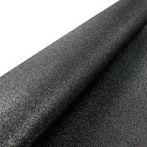 Dekoracje stołowe Bieżnik czarny 50cm 3m