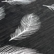 Bieżnik na stół z motywem piór 30cm x 500cm