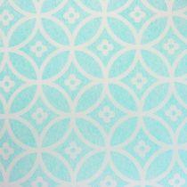 Bieżnik na stół z wzorem jasnoniebieskim 30cm x 300cm
