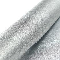 Bieżnik na stół srebrny 50cm 3m