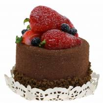 Dekoracja babeczka czekoladowa manekin spożywczy 7cm