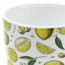 Cachepot Lemon Yellow Ø8/10/13cm Zestaw 3 szt.