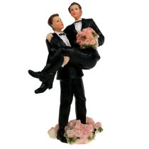 Figurka na tort mężczyzna para 13,5cm